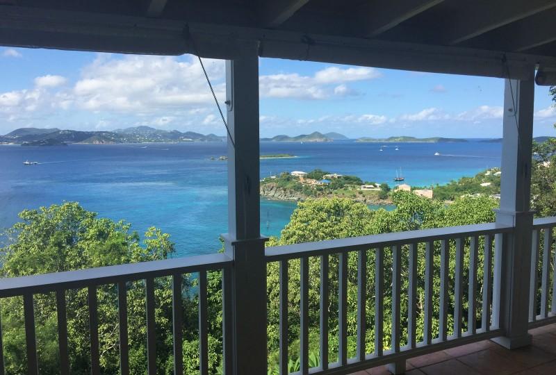 SeaCruz Villa, St John view