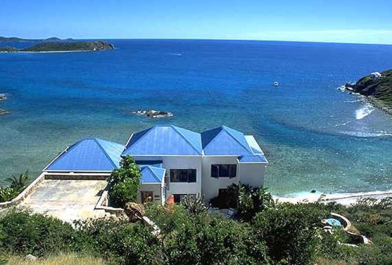 St John rental villa Oceanport view