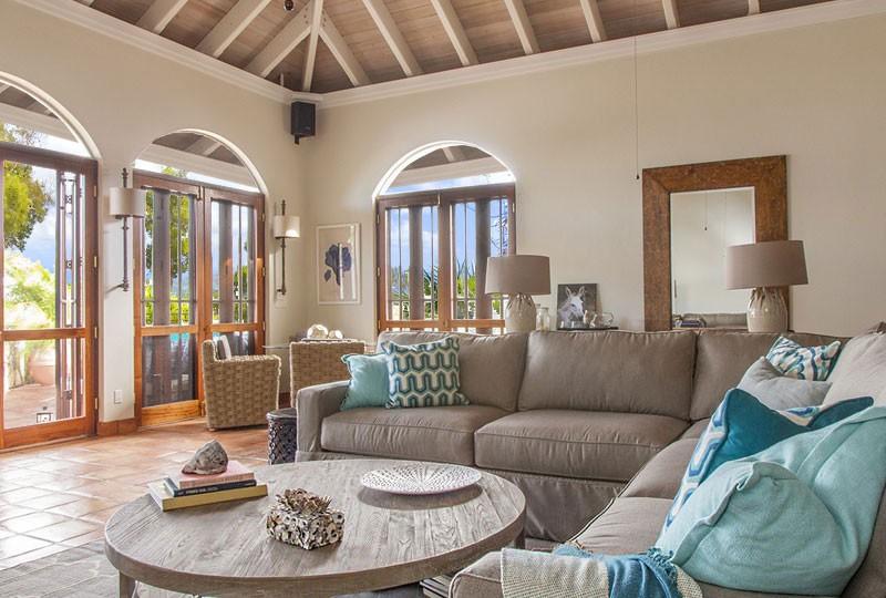 Mystic Ridge Villa on St John Coral Bay, US Virgin Islands