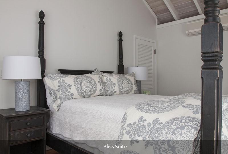 Mystic Ridge St John rental villa - Bliss Suite bedroom