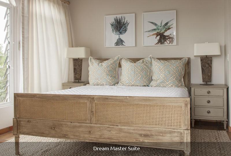 Mystic Ridge St John rental villa - Dream Master Suite bedroom