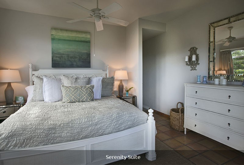 Mystic Ridge St John rental villa - Serenity Suite bedroom