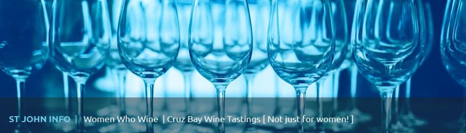 Women Who Wine, Drink St John, Cruz Bay