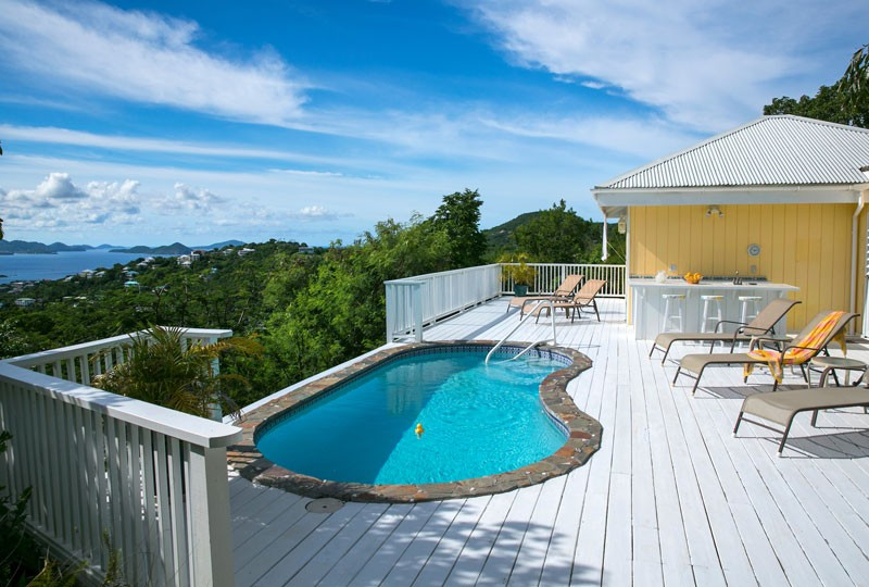 Sea Dream Villa, St John pool