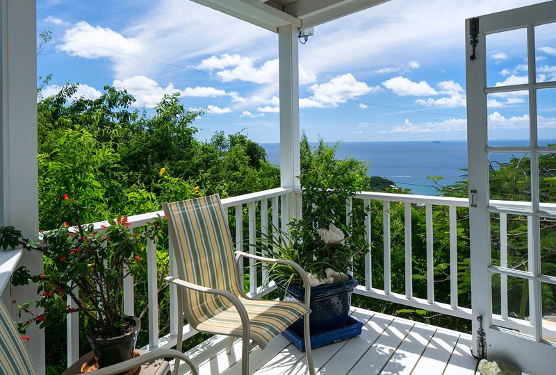 Sea Dream Villa, St John patio