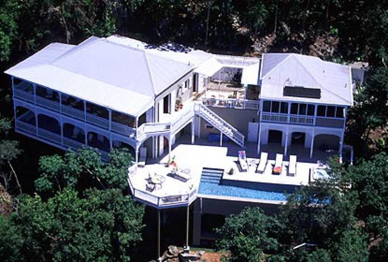 Luxury St John rental villa Cinnamon Stones