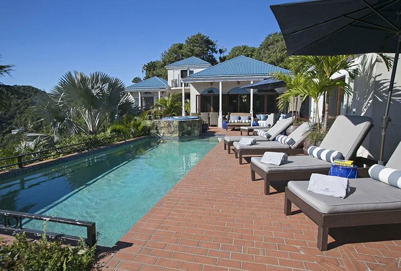 St John rental villa Mystic Ridge, St John USVI