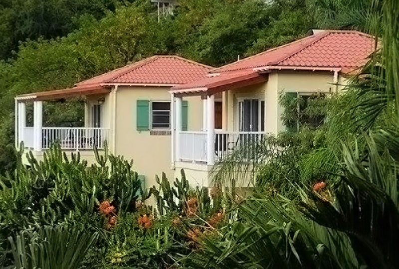 Villa Madeira house view, Saint John, US Virgin Islands