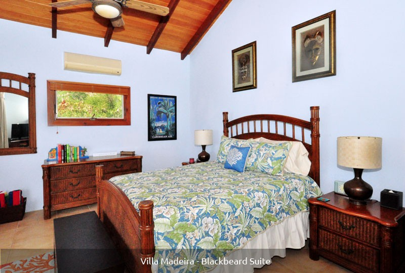 St John rental Villa Madeira - Blackbeard Suite