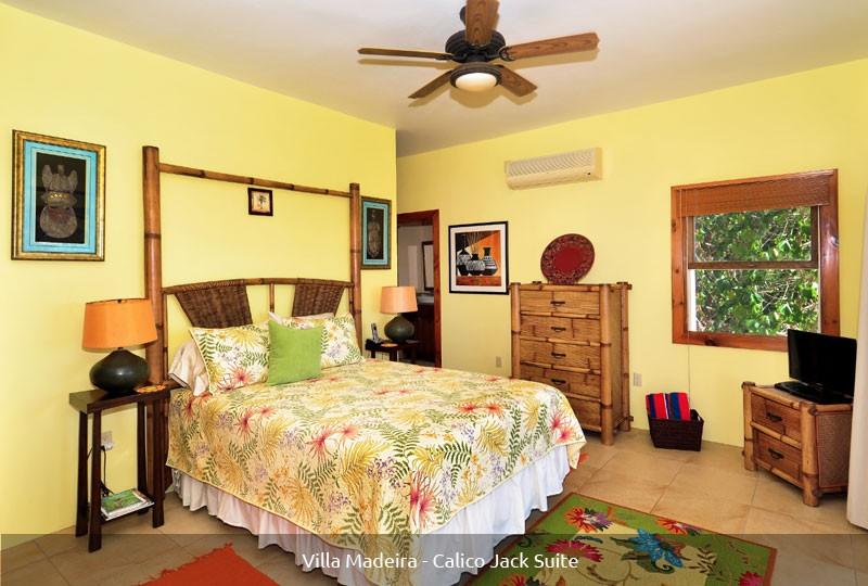 St John rental Villa Madeira - Calico Jack Suite