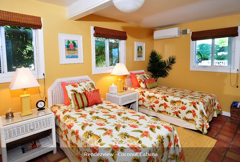 St John villa Rendezview Coconut Cabana Room