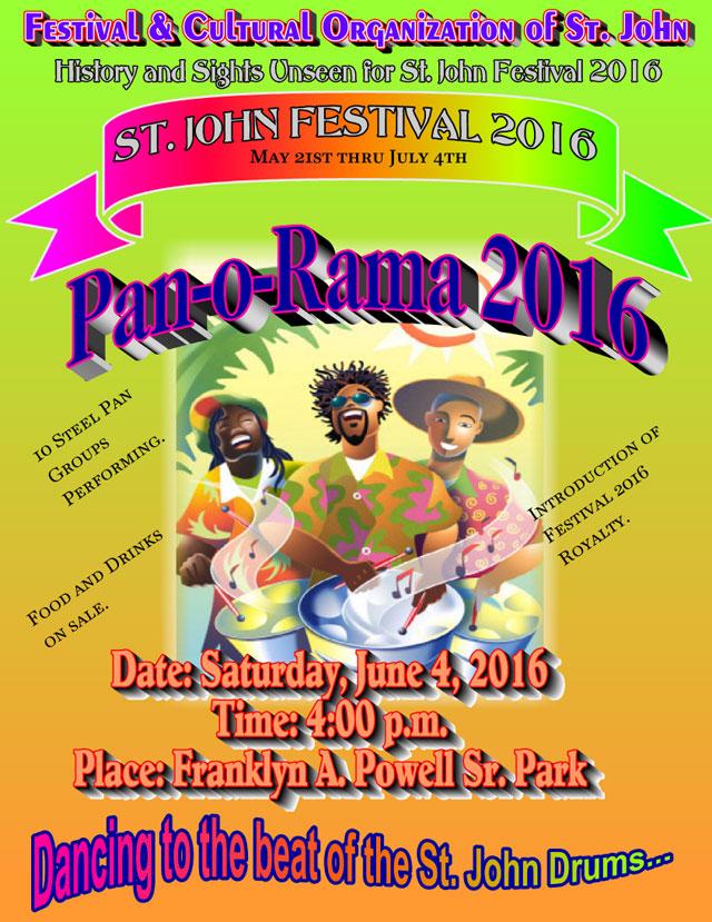 St John carnival 2016 information poster