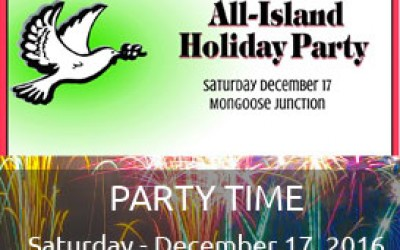 20th Annual All Island Holiday Party St John