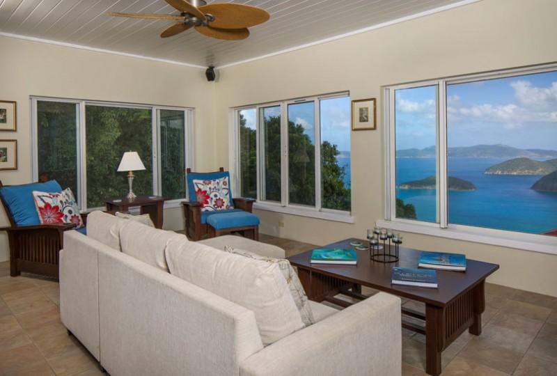 Great Escape villa view