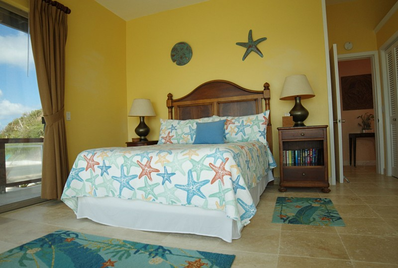 Oceanport Villa, St John master bedroom