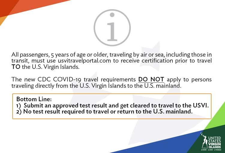 US Virgin Islands COVID 19 information portal