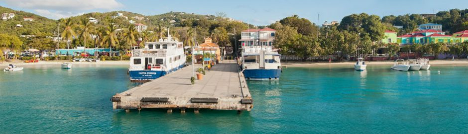 St Thomas to St John ferry schedule US Virgin Islands