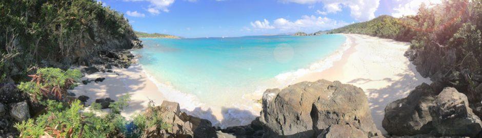 Trunk Bay Beach, St John snorkeling